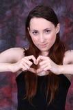 Mon coeur pour vous, jour de valentines Image stock