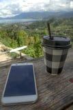Mon coffee3 Photographie stock libre de droits
