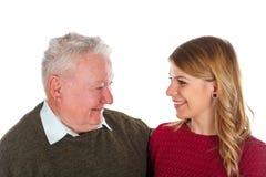 Mon grand-papa a besoin d'un certain régime Photographie stock libre de droits