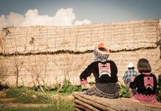 Mon Jam karen children. Stock Photo
