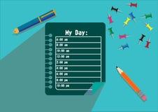 Mon jour Image libre de droits