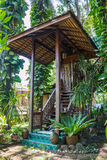 Mon lap lae, Uttaradit, Thailand. Thai Lanna house, northern thai style in Mon lap lae Uttaradit, Thailand Stock Photos