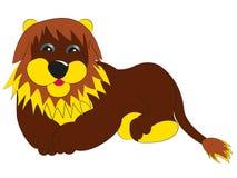 Mon lion féerique Image libre de droits
