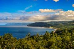 Mon littoral de Nova Scotia une beauté Images stock