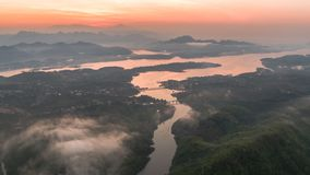 Mon most, Sangkhlaburi, Kanchanaburi, Tajlandia, Azja Zdjęcie Stock