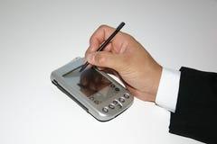 Mon PDA Photos libres de droits