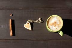 Mon petit déjeuner aromatique et doux préféré Photo stock