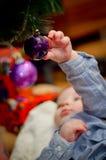 Mon peu de globe de Noël Photographie stock libre de droits