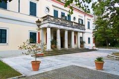 Mon Repo palace at Corfu island Stock Photography