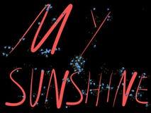 Mon soleil Image libre de droits