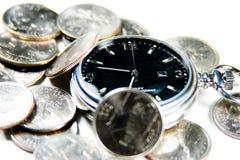 Mon temps gagne l'argent Image stock