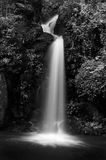 Mon Tha Than waterfall Black and White Stock Photos