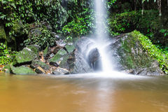 Mon Tha Than Waterfall in Doi Suthep - Pui National Park, Chiangmai Royalty Free Stock Photos