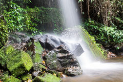 Mon Tha Than Waterfall in Doi Suthep - Pui National Park, Chiangmai Stock Photography