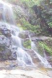 Mon Tha Than Waterfall In Doi Suthep - Pui National Park, Chiangmai Stock Images