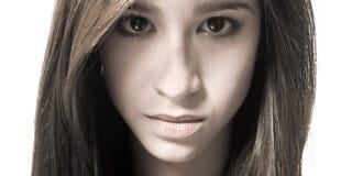 Mon visage de beauté Photo stock