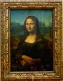 Mona Лиза Париж Стоковые Фото