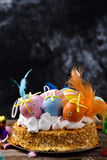 Mona de pascua, cake eaten in Spain on Easter Monday Royalty Free Stock Images