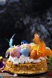 Mona De Pascua, zasycha zjedzonego w Hiszpania na Wielkanocnym Poniedziałku obrazy royalty free