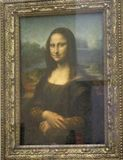Mona Lisa stockbilder
