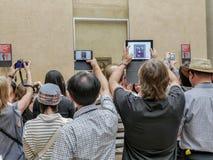 Mona Lisa av Leonardo da Vinci Arkivbilder