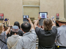 Mona Lisa durch Leonardo da Vinci Stockbilder