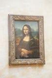 Mona Lisa - en el museo del Louvre Fotografía de archivo