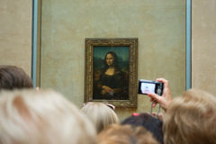 Mona Lisa or Gioconda royalty free stock image