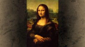 Mona Lisa mrugnięcie i uśmiech