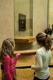 Mona Lisa a Musée du Louvre, Parigi Immagini Stock Libere da Diritti