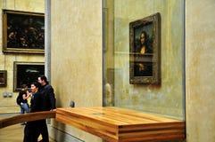 Mona Lisa at Musée de Loure Paris Stock Images