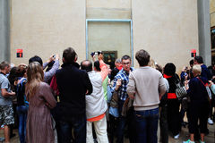 Mona Lisa at the  Musee Du Louvre Royalty Free Stock Images