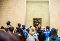 Mona Lisa painting Royalty Free Stock Photography
