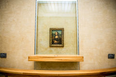 Mona Lisa painting Stock Photos