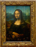 Mona Lisa- Parijs Stock Foto's
