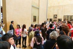 Mona Lisa- Paris stock photos