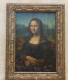 Mona Lisa París Fotos de archivo