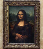 Mona Lisa. Picture of Mona Lisa! In a Museum royalty free stock photography