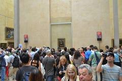 Mona y fans fotografía de archivo libre de regalías
