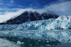 Monacbreen glaciär Fotografering för Bildbyråer