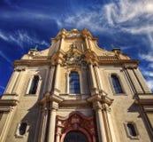 Monachium śródmieście Heiliggeistkirche fotografia royalty free