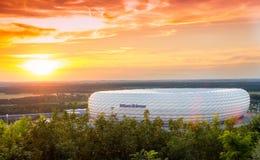 Monachium Alianz areny stadium zdjęcia stock