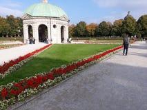 Monachium angielszczyzn ogr?d fotografia stock