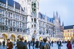 Monachium, Bavaria, Niemcy 29th Marzec 2017 szczegółów Grodzcy brzęczenia Zdjęcia Stock