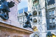 Monachium, Bavaria, Niemcy 29th Marzec 2017 szczegółów Grodzcy brzęczenia Zdjęcia Royalty Free
