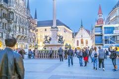 Monachium, Bavaria, Niemcy 29th Marzec 2017 szczegółów Grodzcy brzęczenia Zdjęcie Royalty Free
