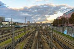 Monachium centrali kolej Obrazy Stock