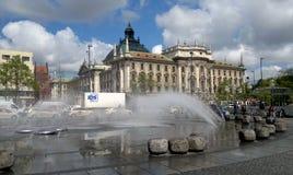 Monachium fontanna fotografia royalty free