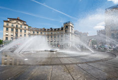 Monachium fontanna Fotografia Stock
