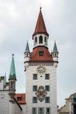 MONACHIUM, GERMANY/EUROPE - WRZESIEŃ 25: Zabawkarski muzeum w Starym Obrazy Royalty Free
